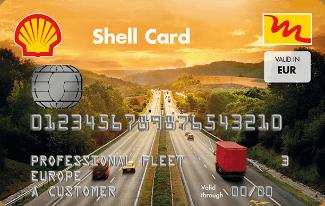 tankkarte shell card